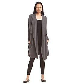 Calvin Klein Performance Long Drapefront Cardigan