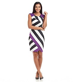 JAX® Printed Scuba Dress