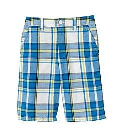 Ruff Hewn Boys' 8-20 Plaid Flat Front Shorts