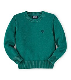 Chaps® Boys' 8-20 Long Sleeve Crew Sweater