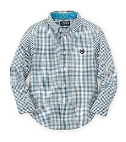Chaps® Boys' 8-20 Long Sleeve Button Down Shirt