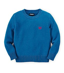 Chaps® Boys' 2T-7 Long Sleeve Crew Sweater