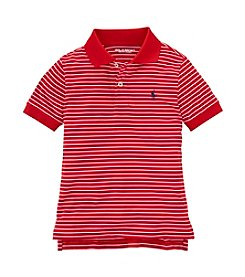 Lauren Ralph Lauren Boys' 2T-7 Striped Polo