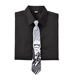 Calvin Klein Boys' 8-20 Star Wars® Dress Shirt