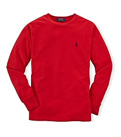 Ralph Lauren Childrenswear Boys' 8-20 Long Sleeve Classic Polo