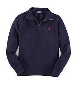 Ralph Lauren Childrenswear Boys' 8-20 Long Sleeve Waffle Fleece