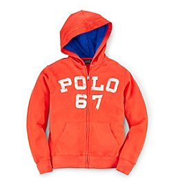 Ralph Lauren Childrenswear Boys' 8-20 Full-Zip Hoodie