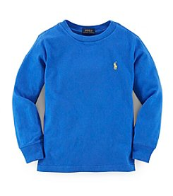 Ralph Lauren Childrenswear Boys' 2T-7 Long Sleeve Classic Tee