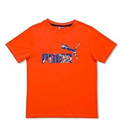 PUMA® Boys' 2T-7 Short Sleeve Logo Tee