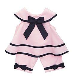 Rare Editions® Baby Girls' Nautical 3-Piece Dress Set
