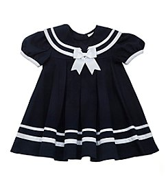 Rare Editions® Baby Girls' Nautical Dress And Hat Set