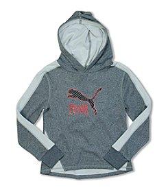PUMA® Girls' 7-16 Logo Hoodie