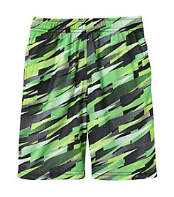 Mambo® Boys' 4-7 Mesh Patterned Shorts