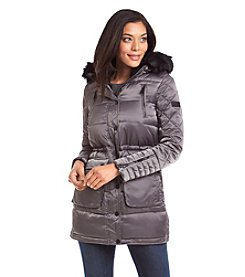 BCBGeneration™ Three-Quarter Quilted Anorak