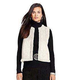 Lauren Ralph Lauren® Petites' Faux-Shearling Vest