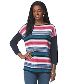 Chaps® Striped Bateau Sweater