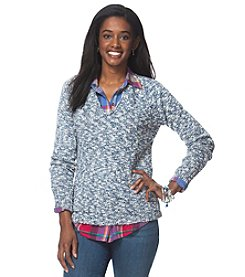 Chaps® Marled V-Neck Sweater