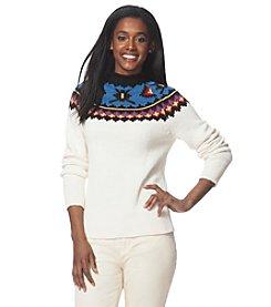 Chaps® Southwestern Mockneck Sweater