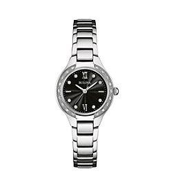Bulova® Women's Sterling Silver Watch
