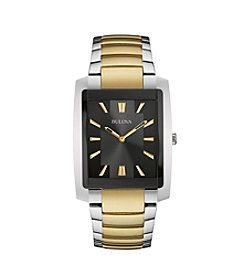 Bulova® Men's Two-Tone Watch