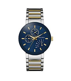 Bulova® Men's Two-Tone Watch