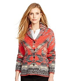 Lauren Jeans Co.® Southwestern Cotton Sweater
