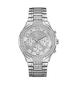 Guess Women's Silvertone Stellar Classic Sport Watch