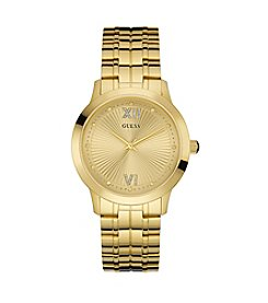Guess Women's Goldtone Liberty Dress Sport Watch