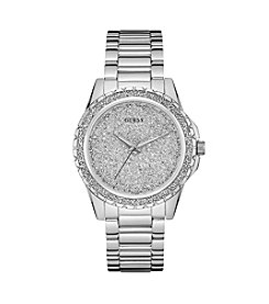 Guess Women's Silvertone Luna Modern Classic Watch