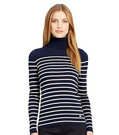 Lauren Ralph Lauren®Ribbed Turtleneck Sweater