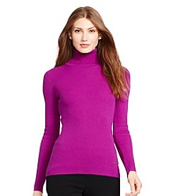 Lauren Ralph Lauren® Ribbed Turtleneck Sweater