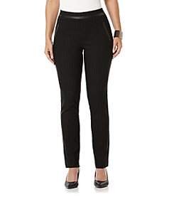 Rafaella® Stripe Pull On Stretch Pants