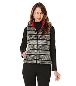 Rafaella® Printed Puffer Vest