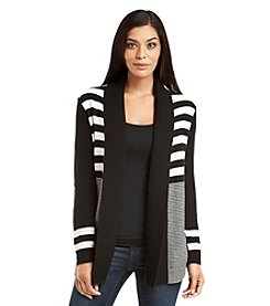 Rafaella® Stripe Cardigan