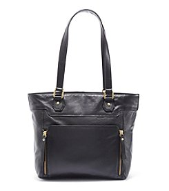 GAL Leather Double Handle Tote