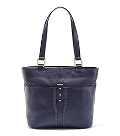 GAL Leather Double Handle Shoulder Tote