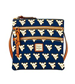Dooney & Bourke® NCAA® West Virginia Triple Zip Crossbody