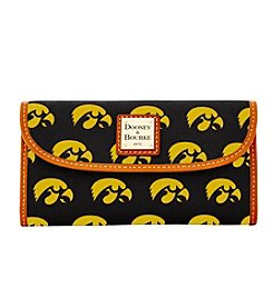 Dooney & Bourke® NCAA® Iowa Continental Clutch