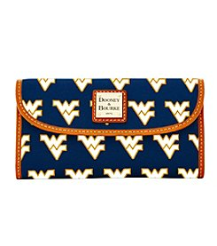 Dooney & Bourke® West Virginia University Continental Clutch