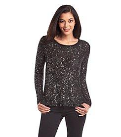 Nine West Jeans® Chiffon Sweater