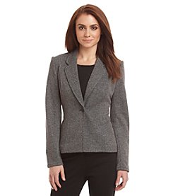 Calvin Klein Knit Notch Collar Jacket