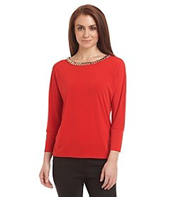 Calvin Klein Chain Neck Dolman Top