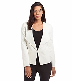 Nine West® Wide Lapel Jacket