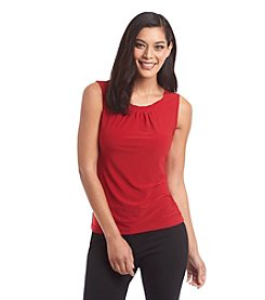 Tahari ASL® Twist Neck Cami