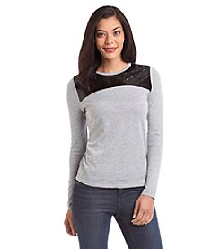 MICHAEL Michael Kors® Sequin Colorblock Top