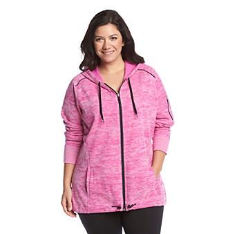Exertek® Plus Size Fleece Anorak Jacket plus size,  plus size fashion plus size appare