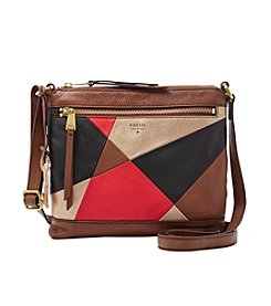 Fossil® Patchwork Leather Crossbody