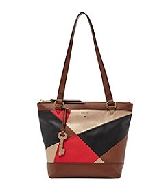 Fossil® Small Patchwork Shopper