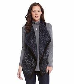 Karen Kane® Reversible Drape Front Vest