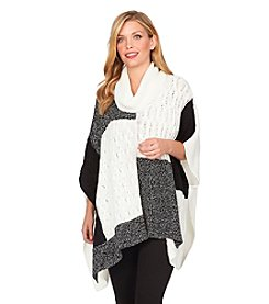 Chaus Patchwork Poncho
